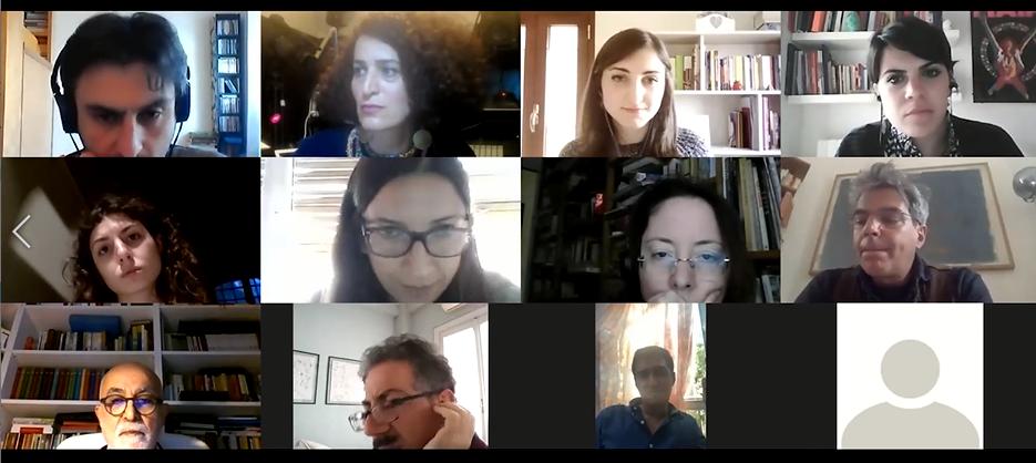 گفتگو با دانشجویان ایتالیایی زبان فارسی درباره معماری و شهرسازی تهران